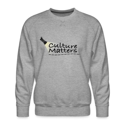 Eenzijdige bedrukking - Mannen premium sweater