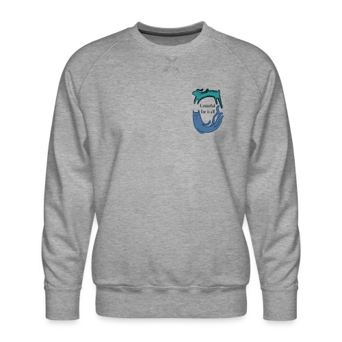 Thankful for everything - Men's Premium Sweatshirt