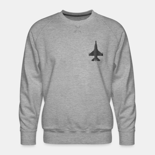 F-16 Viper / Fighting Falcon jet fighter / F16 - Men's Premium Sweatshirt