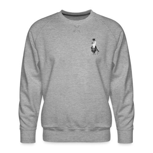 Gentle Llama - Herre premium sweatshirt