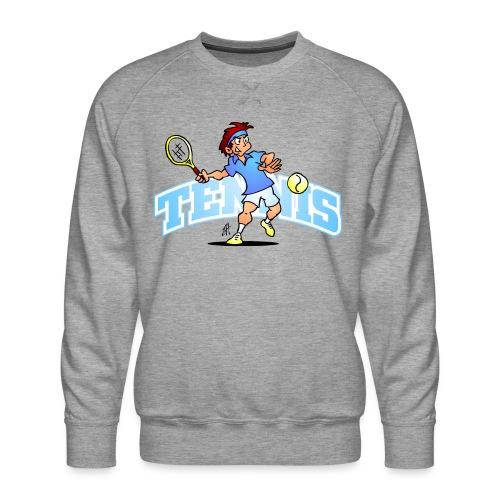 Tennis IV txt fc - Men's Premium Sweatshirt