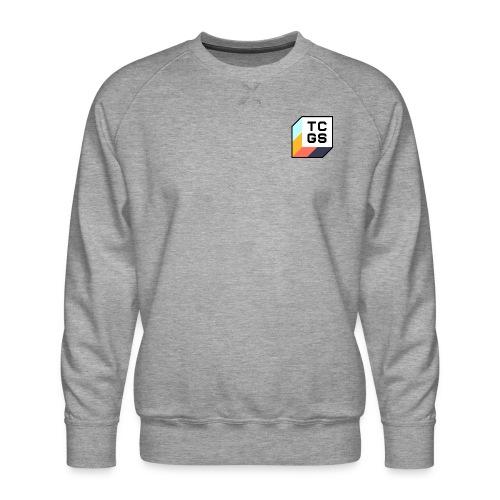 TCGS Black Outline - Men's Premium Sweatshirt