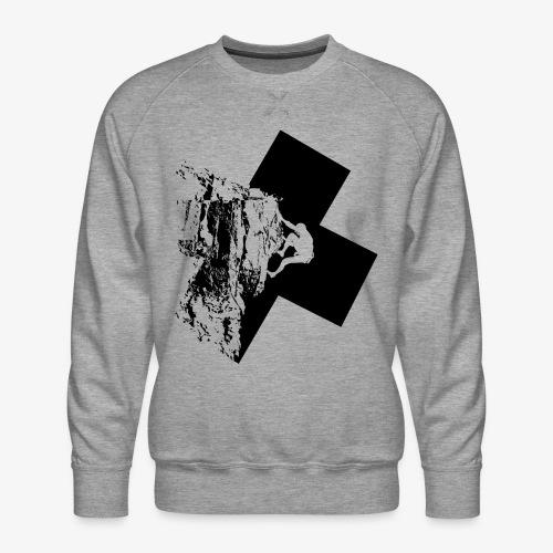 Escalada en roca - Men's Premium Sweatshirt