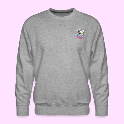 Easter Pinkguin (Yellowguin?) - Herre premium sweatshirt