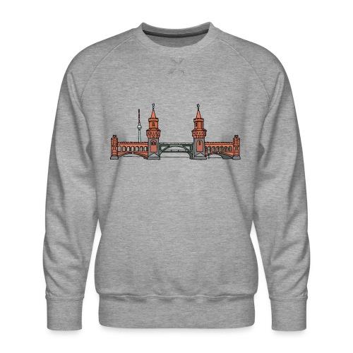 Oberbaumbrücke BERLIN - Männer Premium Pullover