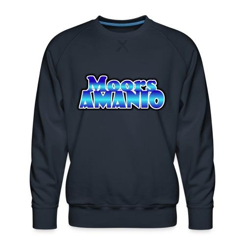 MoorsAmanioLogo - Mannen premium sweater