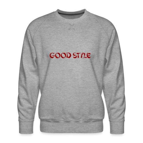 Zak Streetwear - Hoodies - Good Style - Sweat ras-du-cou Premium Homme