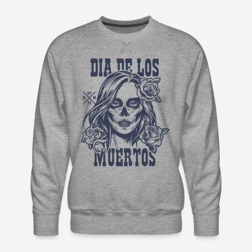 dia muertos day dead - Männer Premium Pullover