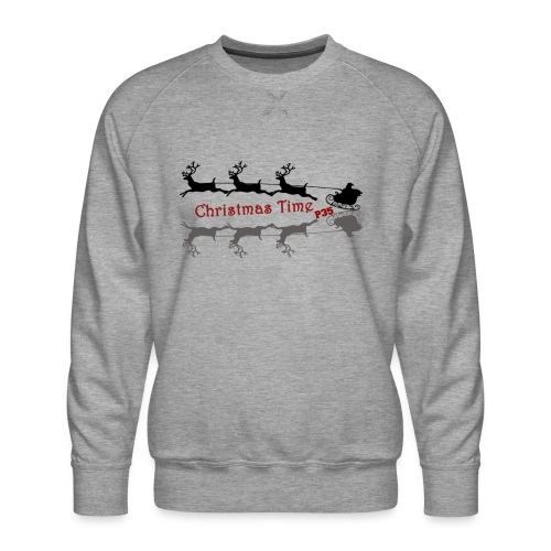 Christmas Time - Männer Premium Pullover