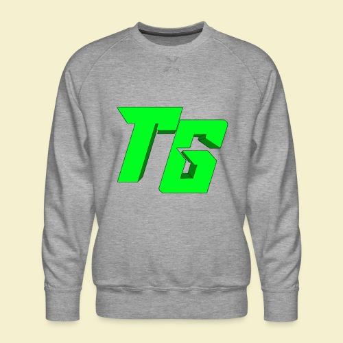 TristanGames logo merchandise [GROOT LOGO] - Mannen premium sweater