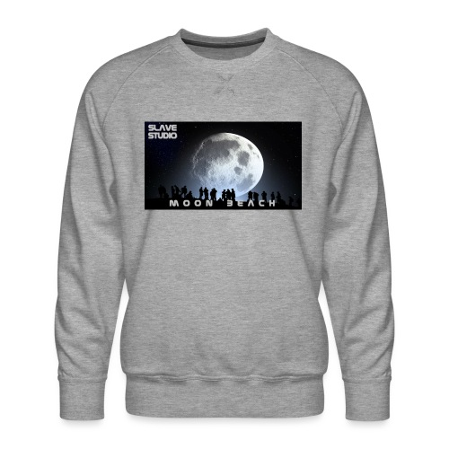 Moon beach - Felpa premium da uomo