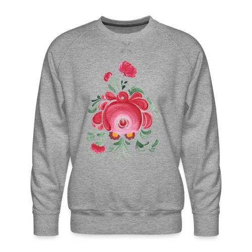 Ostfriesische Rose - Männer Premium Pullover