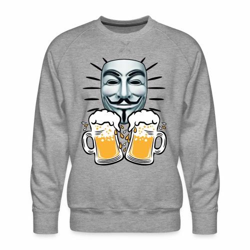 07 Zwei Mass Bier Anonymous - Männer Premium Pullover