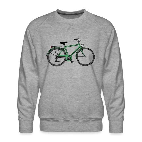 Grünes Fahrrad Bike - Männer Premium Pullover