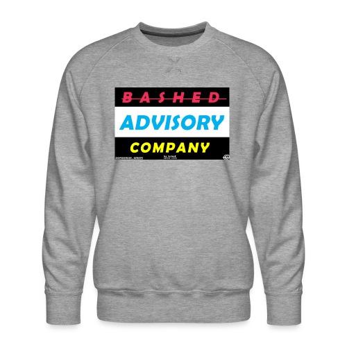 BASHED ADVISORY - Herre premium sweatshirt