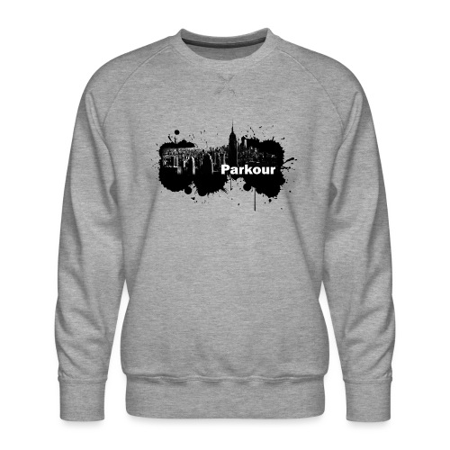 Parkour Splash New York - Herre premium sweatshirt