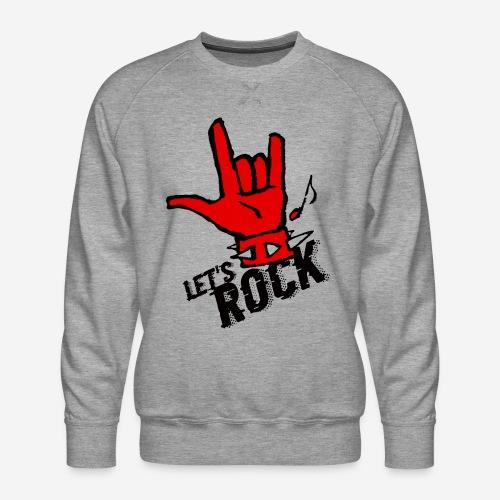 Rockmusik Metal - Männer Premium Pullover