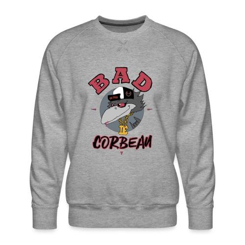 BAD CORBEAU - Sweat ras-du-cou Premium Homme