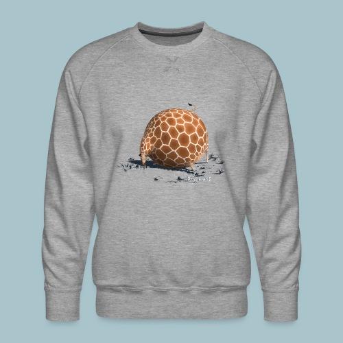 Rollin' Wild - Giraffe drinking - Men's Premium Sweatshirt