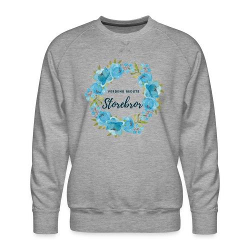 Verdens bedste storebror - Herre premium sweatshirt