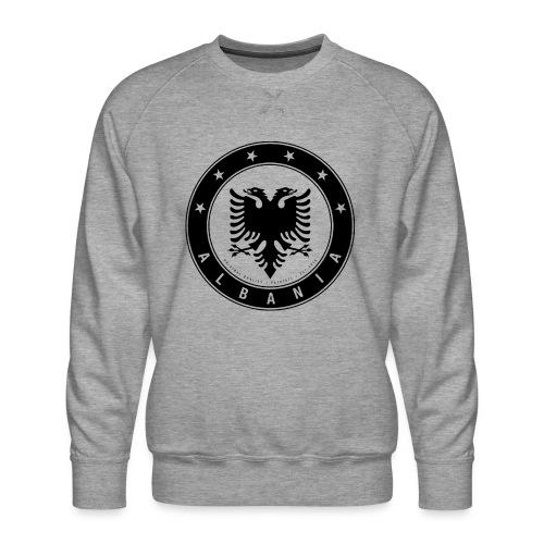 Patrioti Albania Black - Männer Premium Pullover
