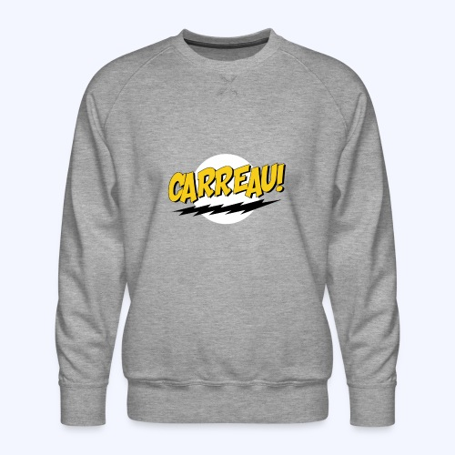 Carreau! - Mannen premium sweater