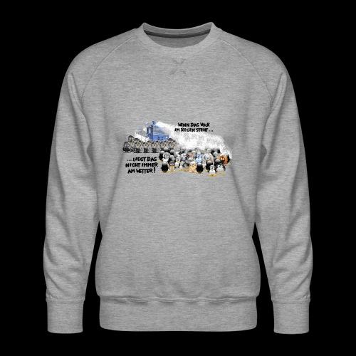 tux demo - Männer Premium Pullover