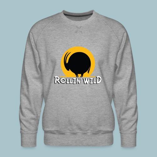 Rollin' Wild Logo - Men's Premium Sweatshirt