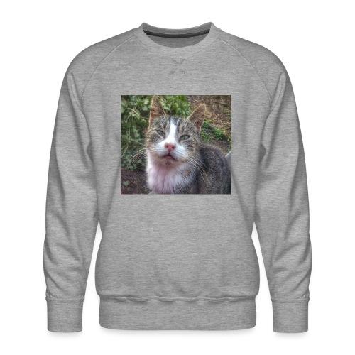 Katze Max - Männer Premium Pullover