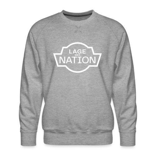 ldn logo white outline cmyk - Männer Premium Pullover