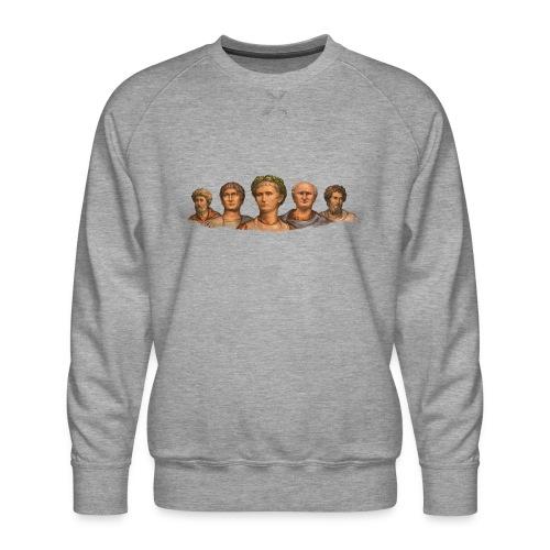 Popiersia cesarskie | Imperial busts - Bluza męska Premium