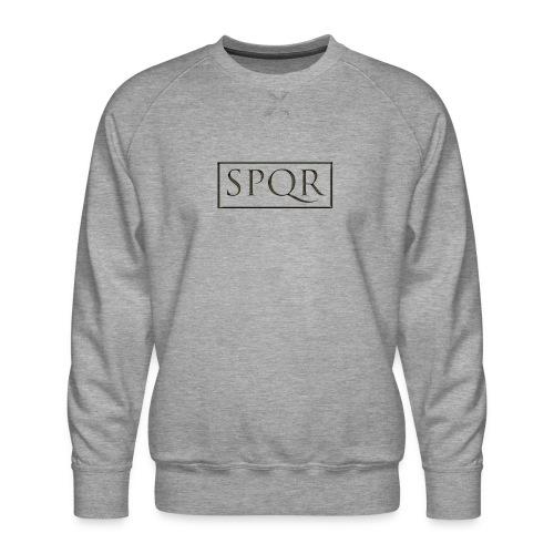 SPQR czarne (black) - Bluza męska Premium