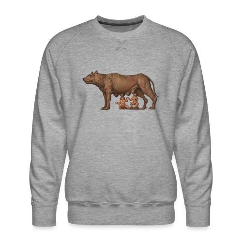 Wilczyca kapitolińska | Capitoline Wol - Bluza męska Premium