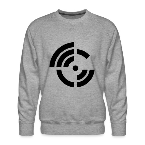 electroradio.fm logo - Men's Premium Sweatshirt