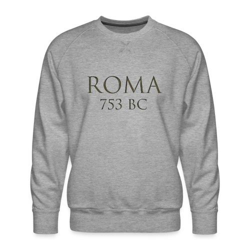 Nadruk Roma (Rzym) | Print Roma (Rome) - Bluza męska Premium