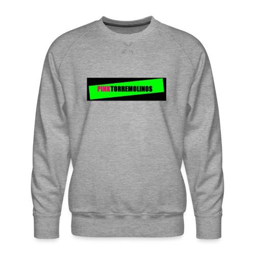 pinklogo - Mannen premium sweater