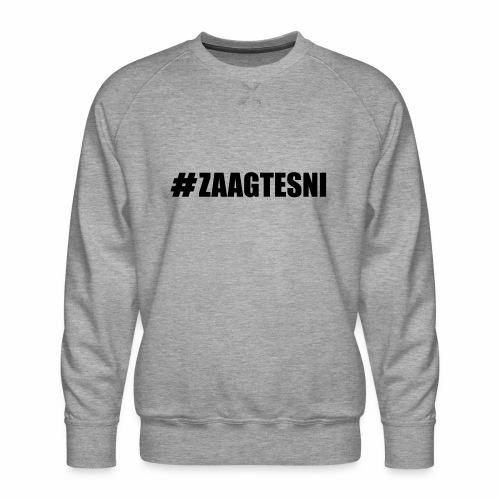Zaagtesni - Mannen premium sweater