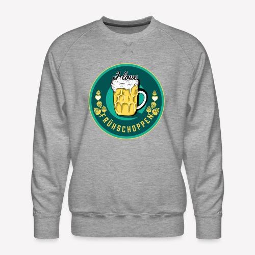 I love Frühschoppen - Männer Premium Pullover