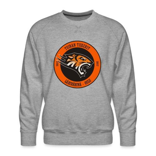 Tuiran Tiikerit, värikäs logo - Miesten premium-collegepaita
