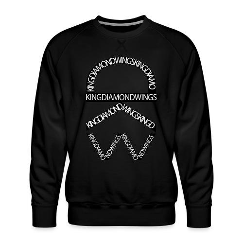 King Diamond Wings Logo - Men's Premium Sweatshirt