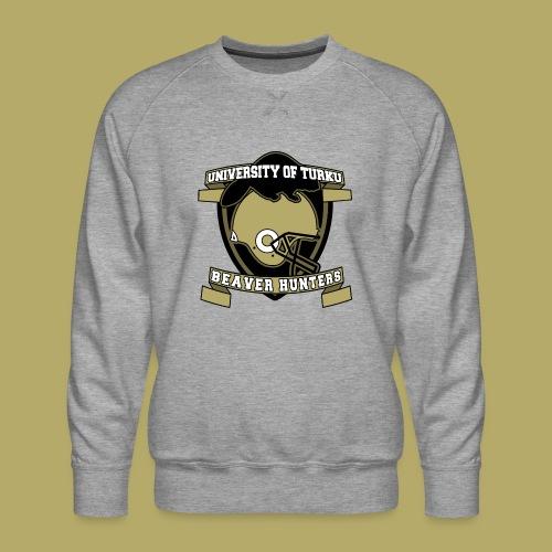 UTU Beaver Hunters - Miesten premium-collegepaita
