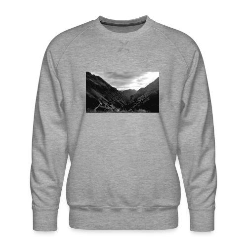 Wanderlust - Mannen premium sweater