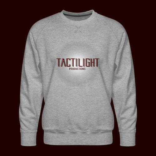 Tactilight Logo - Men's Premium Sweatshirt