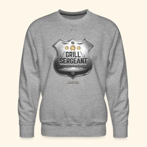 Grill T Shirt Grill Sergeant Design für Griller - Männer Premium Pullover