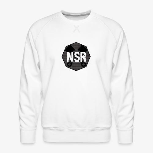 NSR B/W - Miesten premium-collegepaita