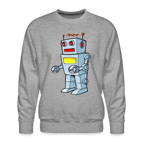 Robot - Felpa premium da uomo