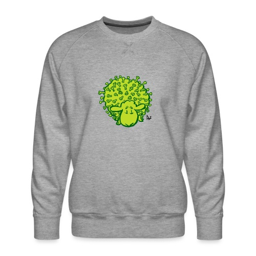 Virus får - Herre premium sweatshirt
