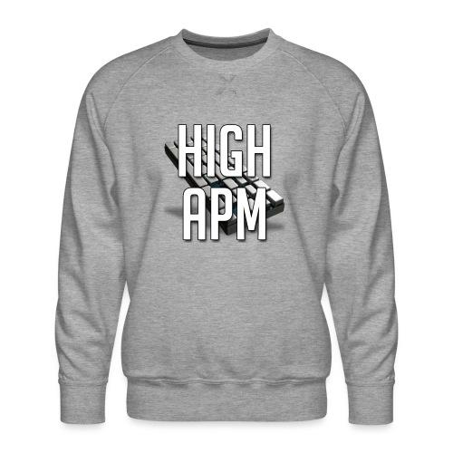 XpHighAPM - Sweat ras-du-cou Premium Homme