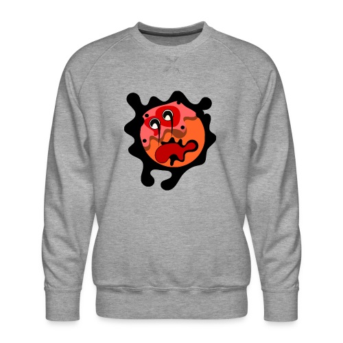 scary cartoon - Mannen premium sweater