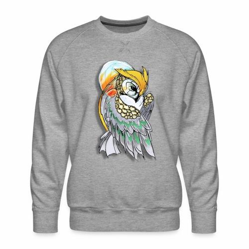 Cosmic owl - Sudadera premium para hombre
